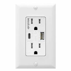 USB combo outlet