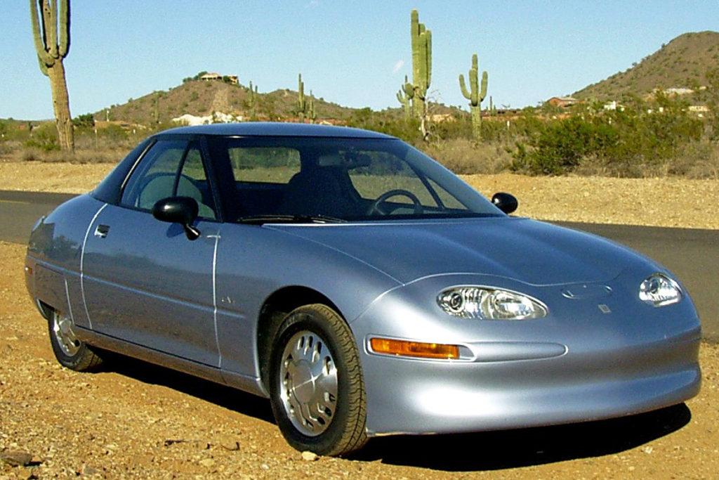 GM model EV1 electric vehicle